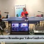 COMUS Promove Reunião por Vídeo Conferência.