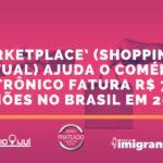 'Marketplace' (shopping virtual) ajuda o Comércio eletrônico fatura R$ 75 bilhões no Brasil em 2019