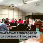 Vereadores aprovam renovação de contrato da Corsan até ano de 2062