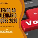 Fique atendo ao novo calendário das eleições 2020