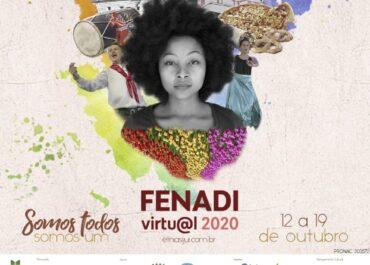 Programação da Fenadi Virtual 2020