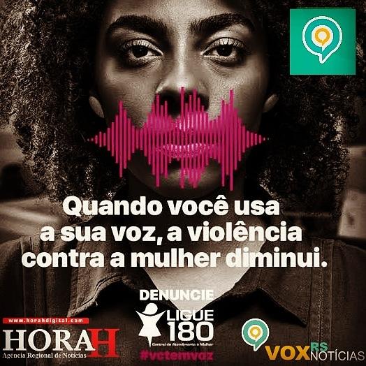 Quando você usa sua voz a violência contra a mulher diminui